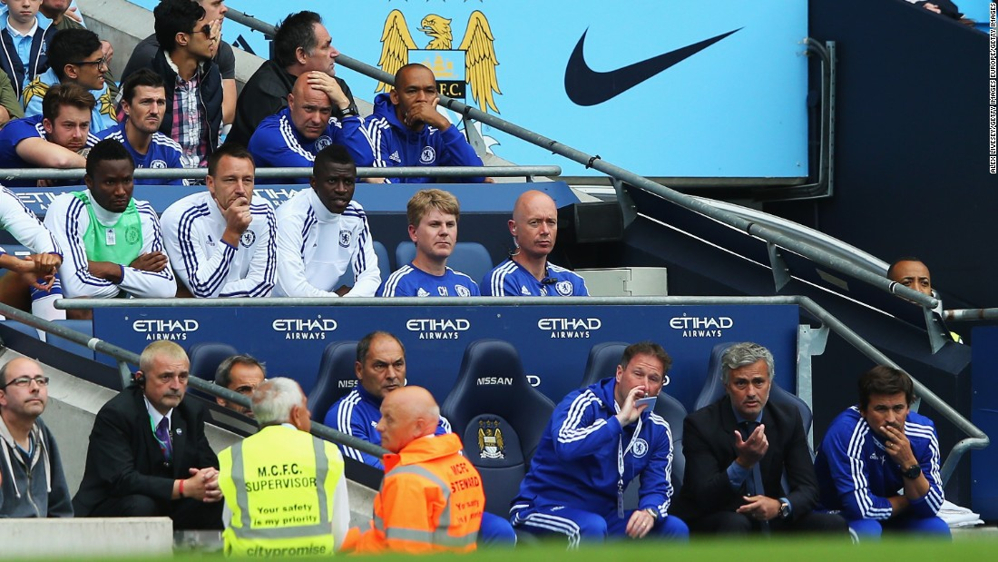 "John Terry had to settle for a place on the bench during the second half, as he was substituted for the first time in a Premier League match under Mourinho. The Portuguese manager said it was a tactical substitution allowing the ""faster"" Kurt Zouma to give Chelsea more cover at the back."