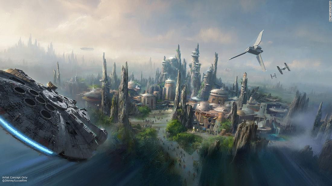 Disney Opening Star Wars Theme Parks Cnn Travel
