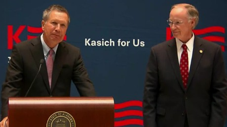 John Kasich alabama governor bentley endorsement sot_00004810