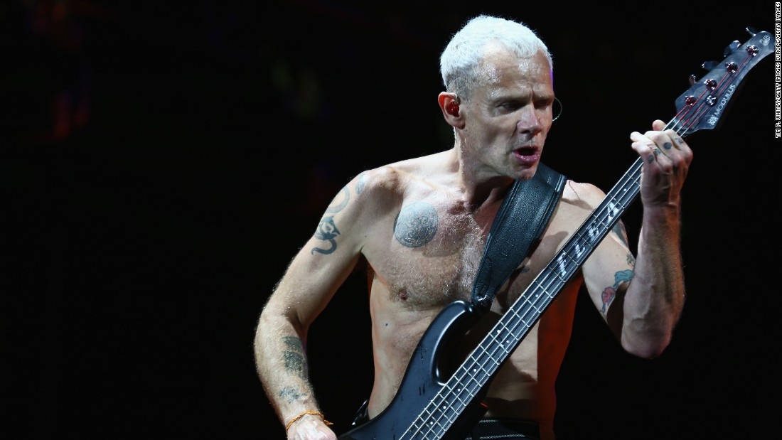 "Flea of the Red Hot Chili Peppers has taken up beekeeping, <a href=""https://www.facebook.com/flea/photos/pb.135435805678.-2207520000.1439822837./10153059271915679/?type=1&theater"" target=""_blank"">something he trumpets on social media</a>."