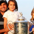 jason day family with trophy