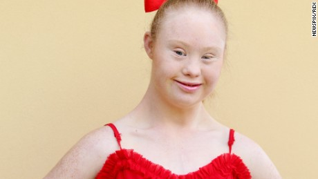 Madeline Stuart is an aspiring model with Down syndrome working to break barriers.