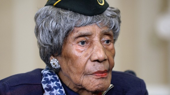 The country's oldest known living veteran, Emma Didlake, died August 16, just one month after being honored by President Barack Obama in Washington. Didlake was 110 years old.