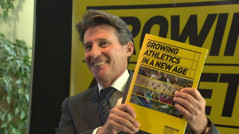 Coe's IAAF presidential pledge