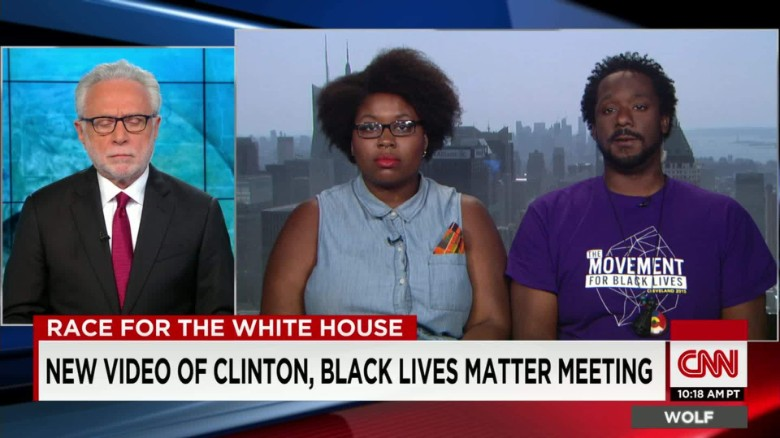 Two Black Lives Matter leaders on the Hillary Clinton meeting