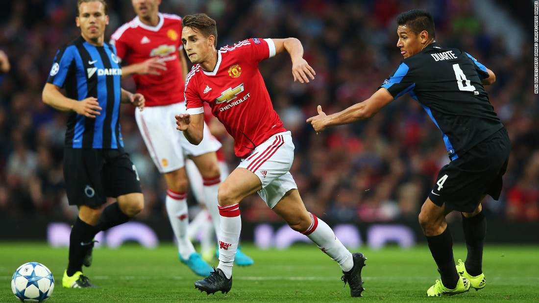Manchester United faced Club Brugge in the Champions League playoff first leg at Old Trafford.