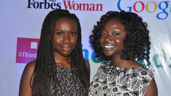 Afua Osei and Yasmin Belo-Osagie.