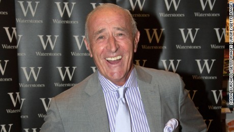 "Len Goodman was the head judge on ""Dancing With the Stars."""