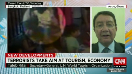 exp Taleb Rifai, Secretary-General of the UNWTO, discusses Bangkok and tourism. _00002001.jpg