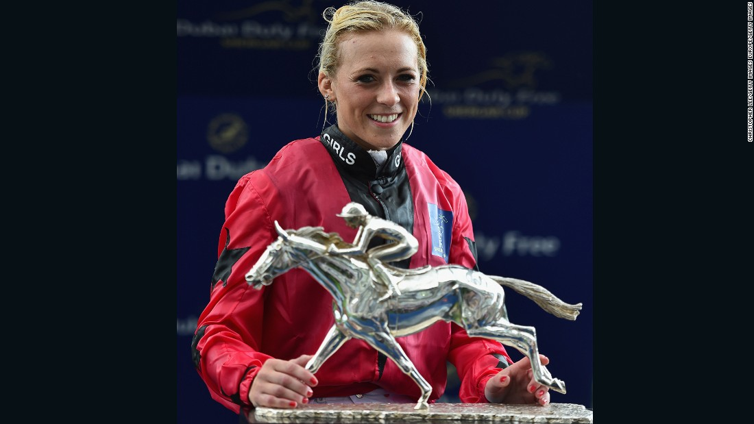 Bell won the Silver Saddle, awarded to the most successful rider at the Shergar Cup.