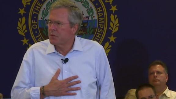 Jeb Bush daughter addiction epidemic New Hampshire sot_00004319.jpg