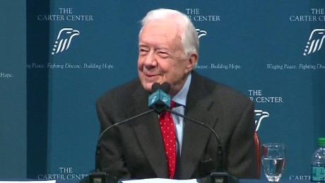 Jimmy Carter Cancer Details sot reaction_00005905