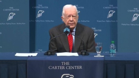 Key moments from Jimmy Carter's press conference
