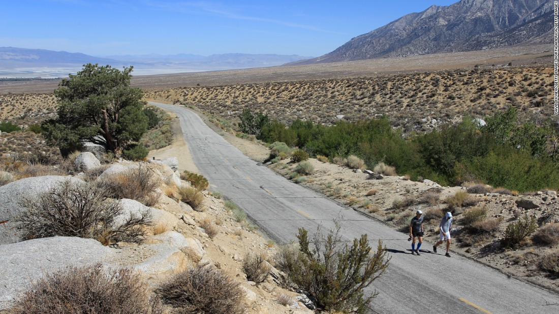 "Describing itself as ""The World's Toughest Foot Race,"" the <a href=""http://www.badwater.com/event/badwater-135/"" target=""_blank"">Badwater Ultramarathon</a> takes place in California's Death Valley at the height of summer, with temperatures often reaching 130F. <br />Competitors must race 135 miles nonstop, with previous winner Dean Karnazes calling it: ""A midsummer inferno."""