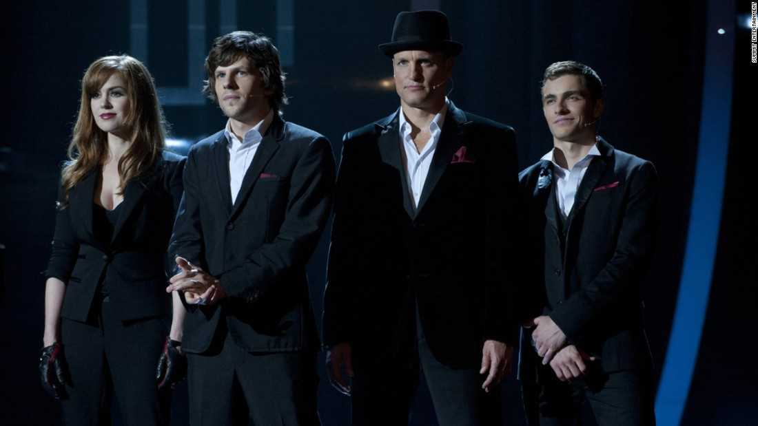 """Now You See Me"" (2013), about a gang of magicians led by Jesse Eisenberg, second from left, <a href=""http://www.nola.com/movies/index.ssf/2013/05/take_5_the_now_you_see_me_edit.html"" target=""_blank"">shot a great deal in New Orleans</a>, including a scene on Bourbon Street during Mardi Gras. The sequel, however -- due for release next year -- is <a href=""http://www.onlocationvacations.com/2015/03/13/now-you-see-me-2-begins-filming-in-macau/"" target=""_blank"">taking a more international slant</a>."