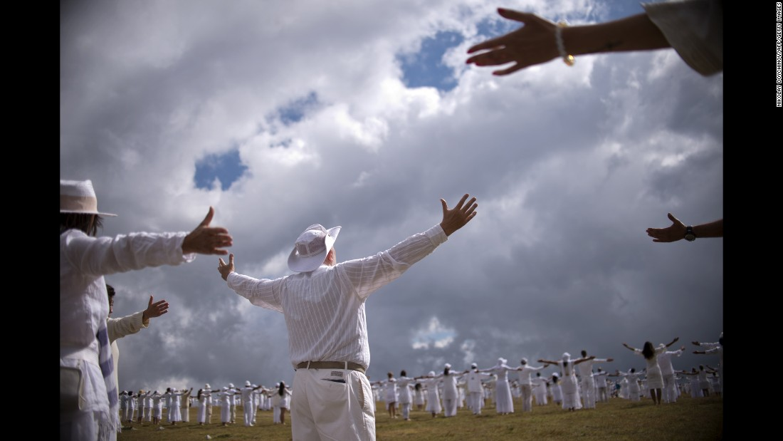 "Members of an international religious movement called the White Brotherhood perform a ritual dance on the top of Bulgaria's Rila mountain range on Wednesday, August 19. <a href=""http://www.cnn.com/2015/08/14/world/gallery/week-in-photos-0813/index.html"" target=""_blank"">See last week in 35 photos</a>"