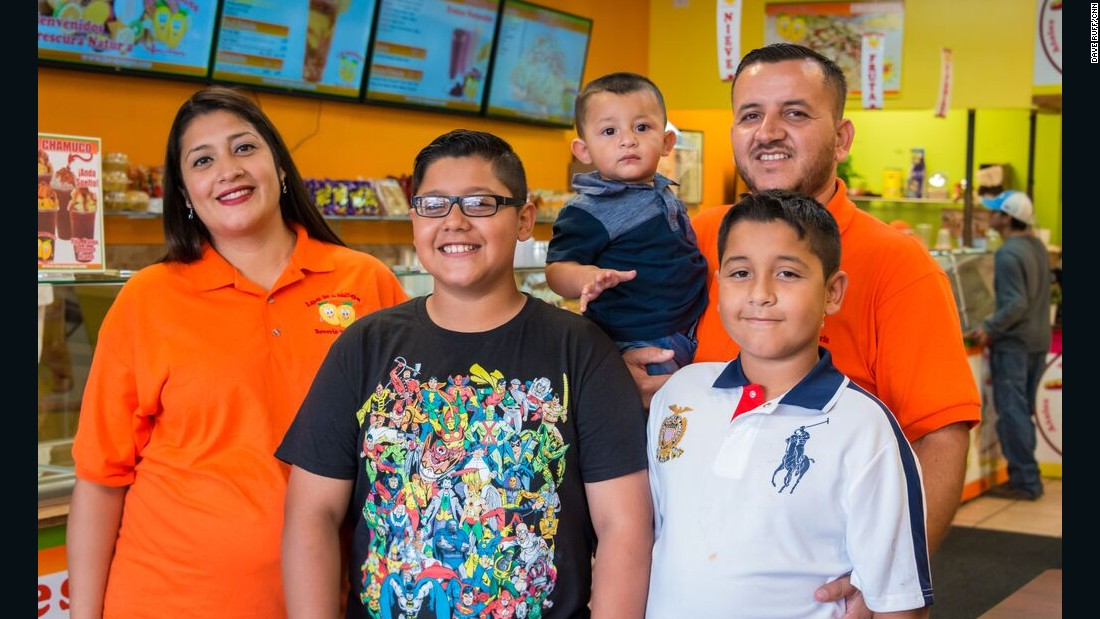Not only is the Montoya family adding an eighth location in the Chicago area, their numbers are growing.  The parents are expecting their fourth child in October.