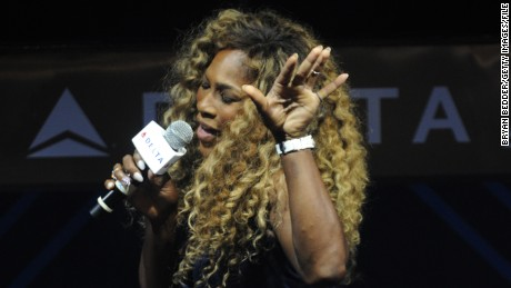 Serena Williams, Karaoke queen gears up for Grand Slam
