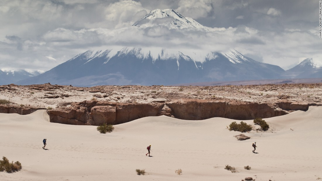 "The spectacular Atacama Crossing in Chile is one of four marathons held as part of the <a href=""http://www.4deserts.com/"" target=""_blank"">4 Deserts Race</a> challenge.<br />Those planning on completing all four races, must cover 621 miles, over 28 days, spread out across the year."