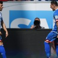 kevin volland celebrates