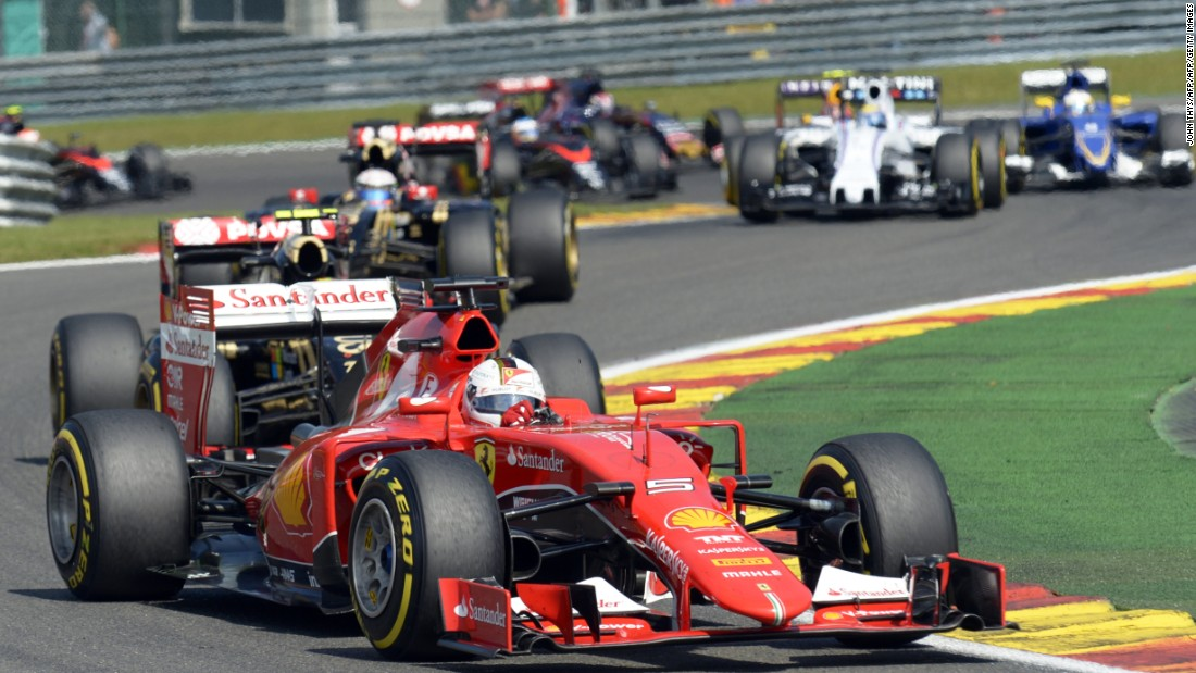 Ferrari's Sebastian Vettel was successful last time out in Hungary but could only finish 12th in Belgium.