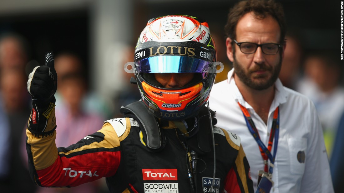 A podium finish was particularly satisfying for Grosjean who has struggled at the Spa-Francorchamps circuit in years gone by.