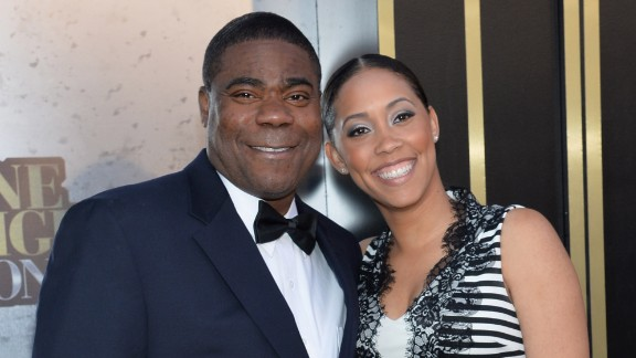 Tracy Morgan and Meghan Wollover married in a moving ceremony on Sunday, August 23, according to People. The couple are the parents of a 2-year-old daughter, Maven.