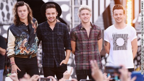 "One Direction perform on ABC's ""Good Morning America"" at Rumsey Playfield, Central Park on August 4, 2015 in New York City."