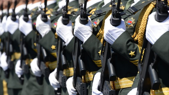 China's military parade is to mark the 70th anniversary of Japan's surrender, or the Victory over Japan Day, in 1945.