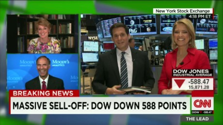Markets plunge Lead guests Swonk and Zandi_00034106