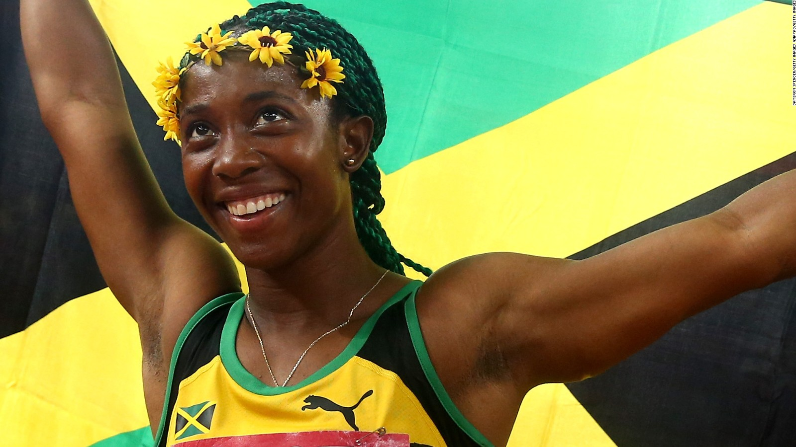 Shelly Ann Fraser Pryce And Usain Bolt