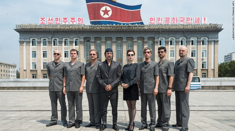Video shows Laibach's 'strange' North Korean concert