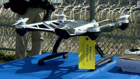 Authorities foil drug & porn drone dropoff to prison