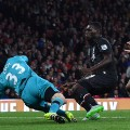 cech save arsenal liverpool