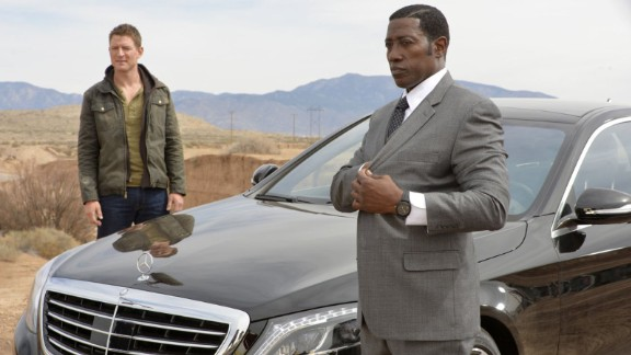 """Philip Winchester and Wesley Snipes are playing for keeps in Vegas in """"The Player."""""""
