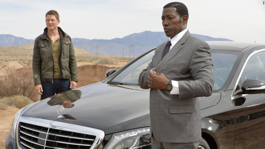 "Philip Winchester and Wesley Snipes are playing for keeps in Vegas in ""The Player."""
