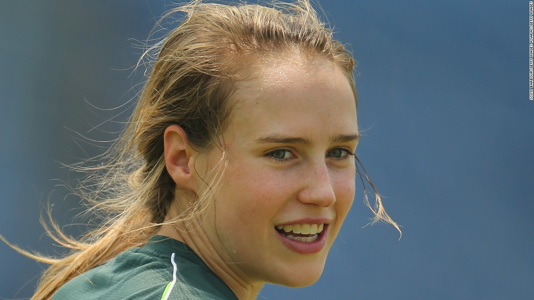 Perry has won three Twenty20 World Cups with the Southern Stars, as well as the 50-over version. Her all-round game makes her one of the most valuable players on the circuit.