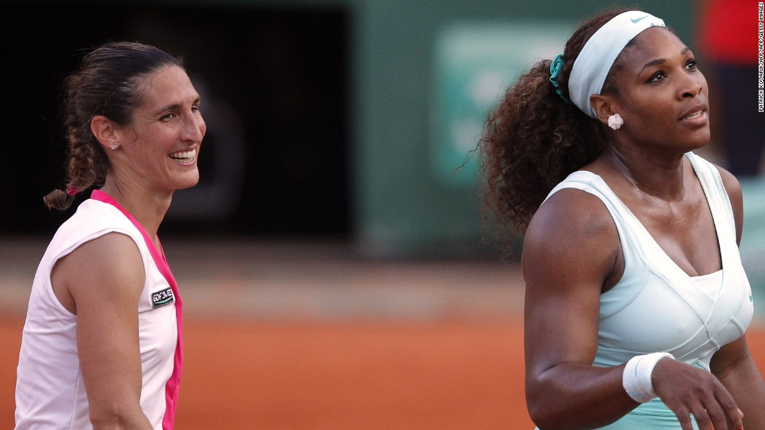 The only time Williams lost in the first round of a grand slam came in 2012 against Frenchwoman Virginie Razzano at the French Open.