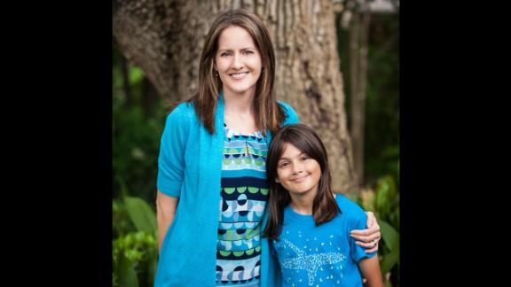 Sharon Choksi, founder of Girls Will Be, and her daughter Maya, 10