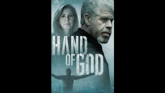 """Ron Perlman and Dana Delany star in the new Amazon series """"Hand of God"""" about a corrupt judge who has  a transformative experience."""