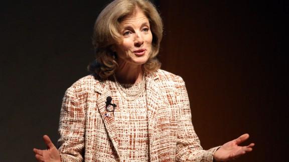 U.S. Ambassador to Japan Caroline Kennedy speaks during The World Assembly for Women in Tokyo: WAW! Tokyo 2014 at Keidanren Kaikan on September 12, 2014 in Tokyo, Japan.