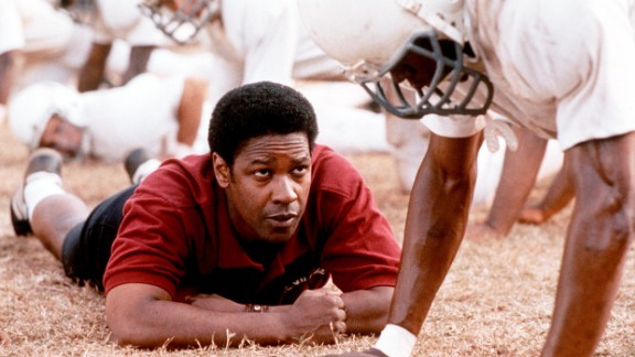 Denzel Washington said the movie tried to emphasize the athletes as much as the coaches.