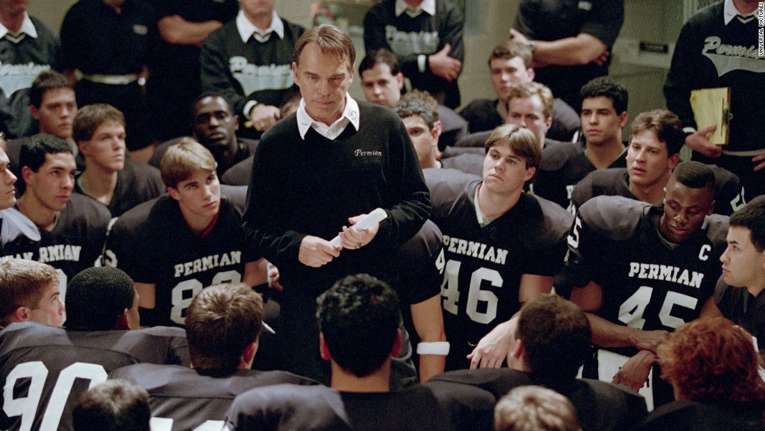 "<strong>""Friday Night Lights""</strong>: This 2004 film about a high school football team and the Texas city obsessed with them was based on a nonfiction book and spurred a TV series of the same name. <strong>(HBO Now) </strong>"