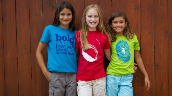"Girls Will Be designs clothes with a unique ""in-the-middle"" fit (not too fitted, but not too boxy) and graphics that break gender stereotypes. The brand comes in bold colors (beyond just pink!) without all the frills."