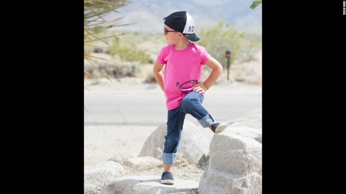 "<a href=""http://www.quirkiekids.com/"" target=""_blank"">Quirkie Kids</a> believes all kids should be free to wear pink regardless of their gender. The company offers a line of gender neutral T-shirts."