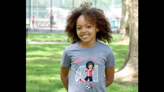 Sunrise Girl offers short and long sleeve T-shirts celebrating girls' different interests, from soccer to gymnastics to the great outdoors.