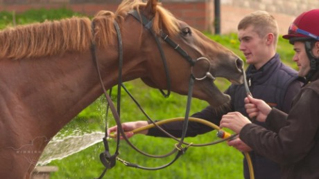 Leading apprentice jockey Jack Garritty gears up for York's Ebor Festival.