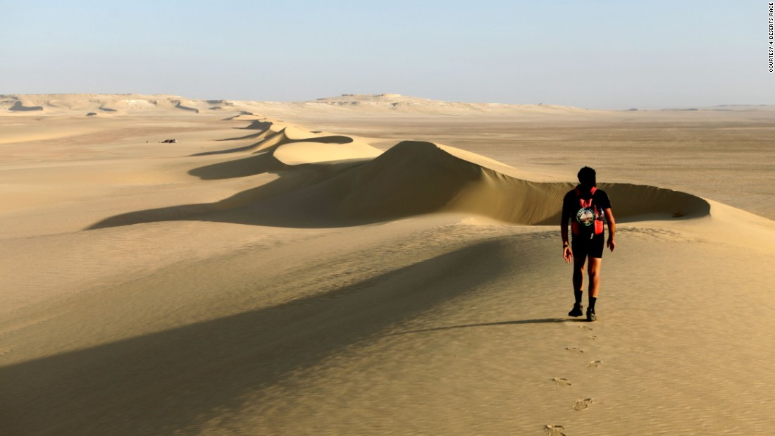"Also included in the 4 Deserts Race is a marathon across the <a href=""http://www.4deserts.com/sahararace/"" target=""_blank"">Sahara,</a> in Nambia.  This individual race covers 155 miles, over seven days."
