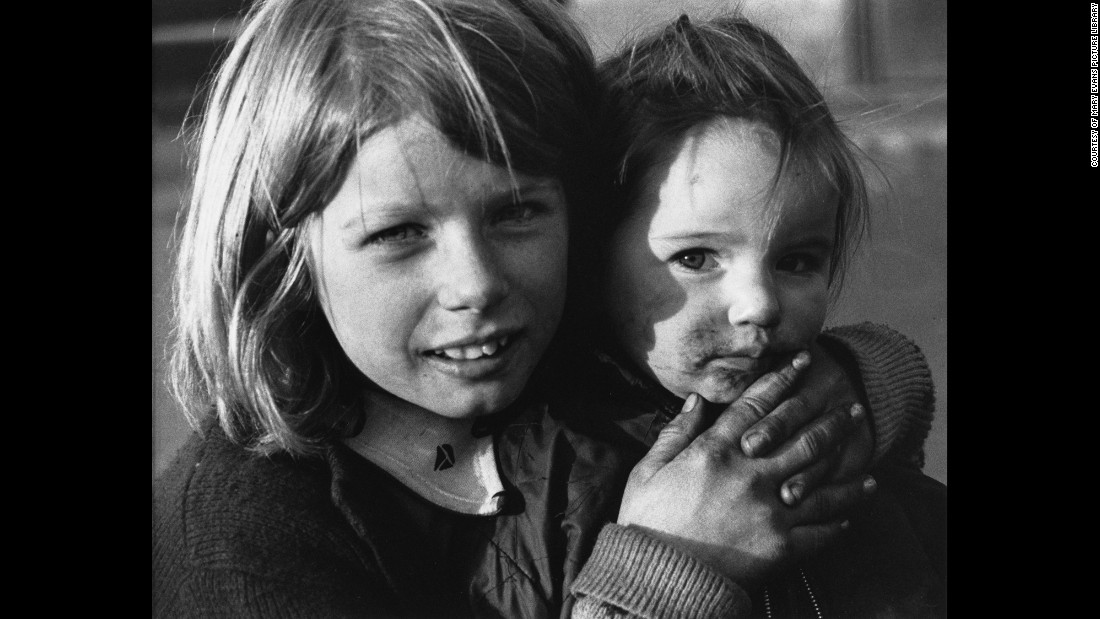 "Though the pictures date from the '60s and '70s -- this one is from 1973 Manchester -- they have a timelessness that harks back to the Britain of Dickens or anticipates the downtrodden neighborhoods of children today. ""We often think of these areas and that time in black and white, because that was how they were photographed, but there was color there, as I recorded it,"" she wrote <a href=""http://www.tate.org.uk/context-comment/articles/its-all-about-people"" target=""_blank"">in an essay for London's Tate Museum. </a><br />"