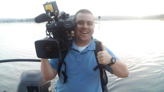 """Robert Denton, one of Ward's professors, said: """"Adam was a delightful person. He worked hard -- you could tell he loved what he was doing. He wasn't afraid to pitch in and do whatever was necessary for the broadcast."""""""